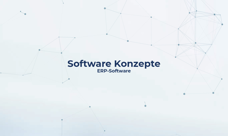 Software Konzepte ERP-Software